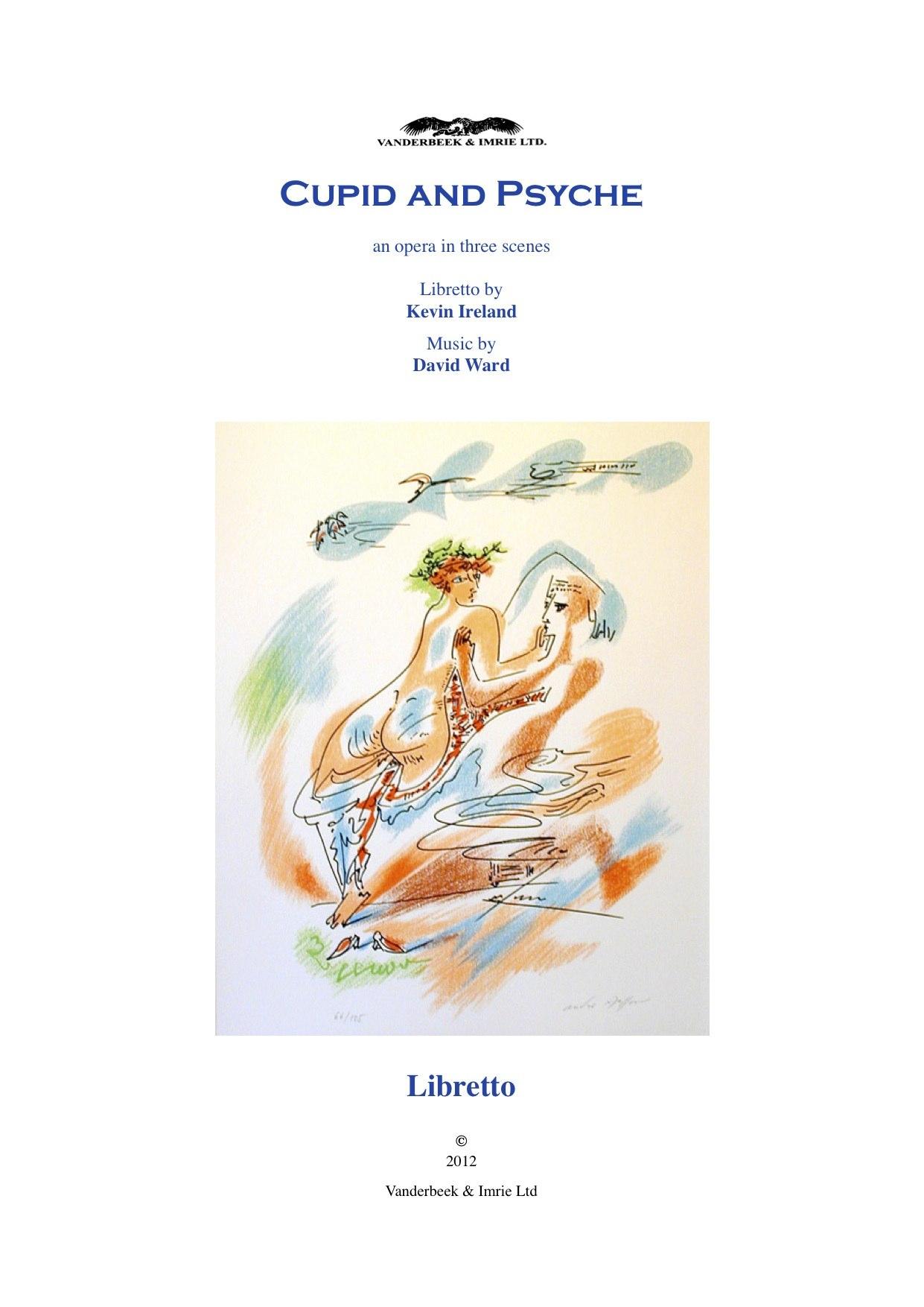 Cupid & Psyche Libretto cover